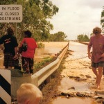 Gascoyne River in flood.
